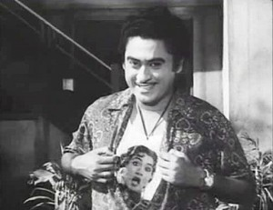 Kishore Kumar in Half Ticket.