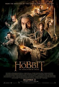 A poster of The Hobbit 2.