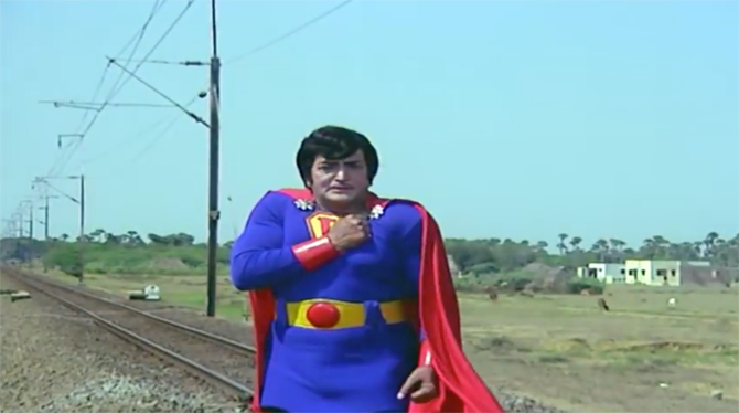 Image result for ntr superman funny
