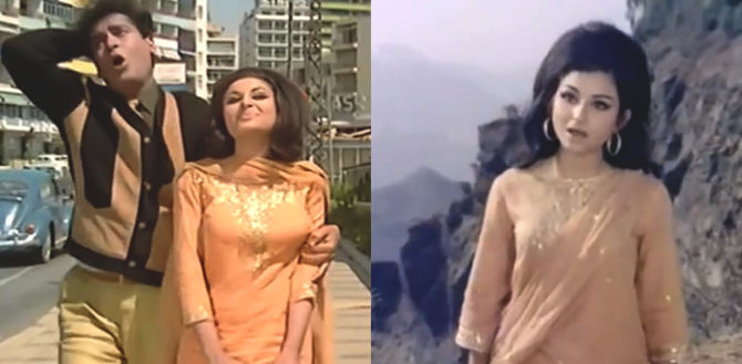 Sharmila Tagore in An Evening in Paris and Aamne Samne