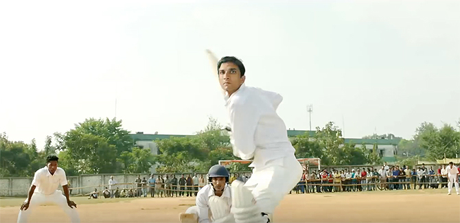 A still from MS Dhoni: The Untold Story