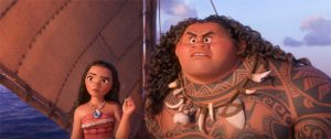 A still from Moana